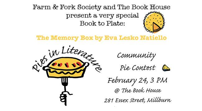 pies in literature flyer